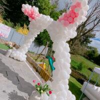 Bunny Ear Balloon Arch