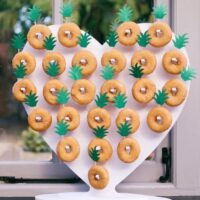 Heart Donut Stand
