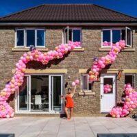 Outdoor House Balloons