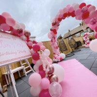 Pink & Rose Gold Balloons